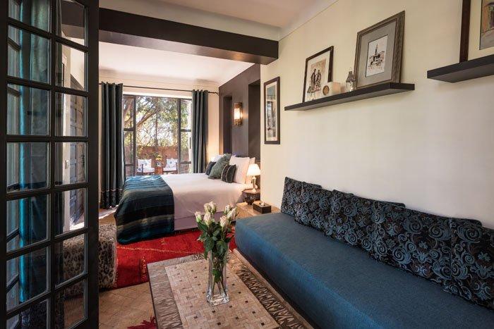 Villa Dinari Garden suite, luxury villa in Marrakech
