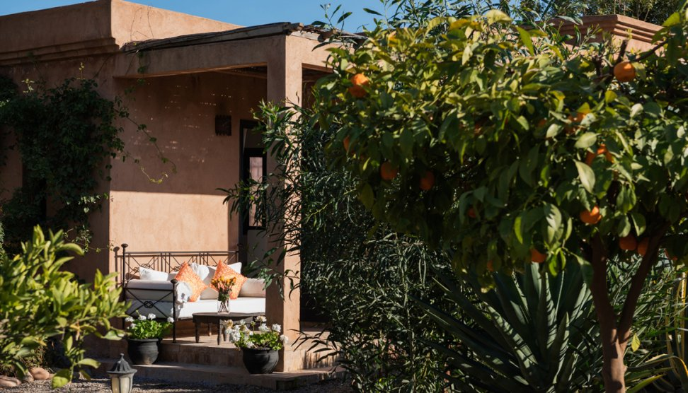 Villa Dinari Gatehouse Room, villa in Marrakech