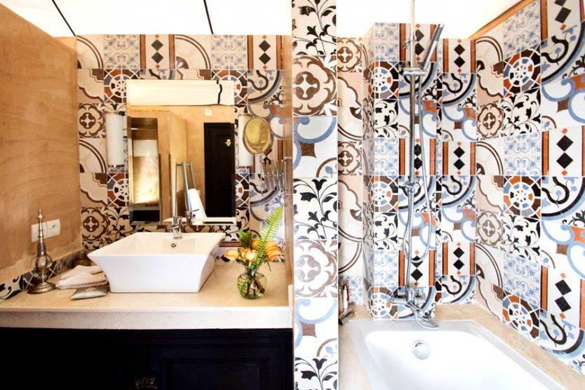 Glamping suites at Villa Dinari, luxury villa in Marrakech