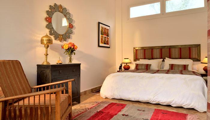 Beautiful Amazigh suite at luxury Villa Dinari Marrakech Morocco