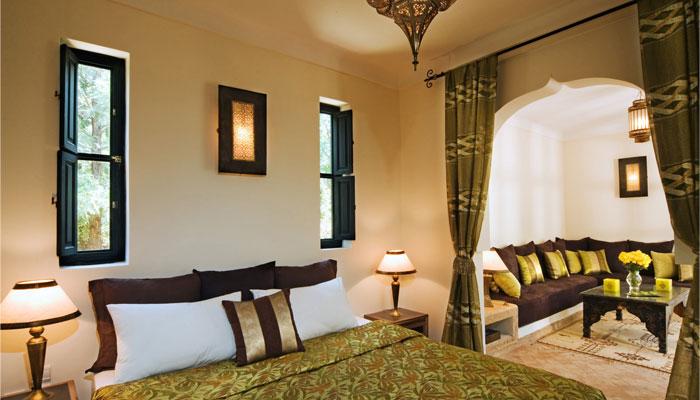Luxury Dinari Suite lounge Villa Dinari Marrakech Morocco