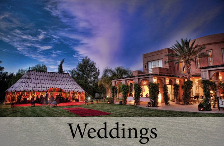 Wonderful Weddings at Villa Dinari, luxury villa in Marrakech