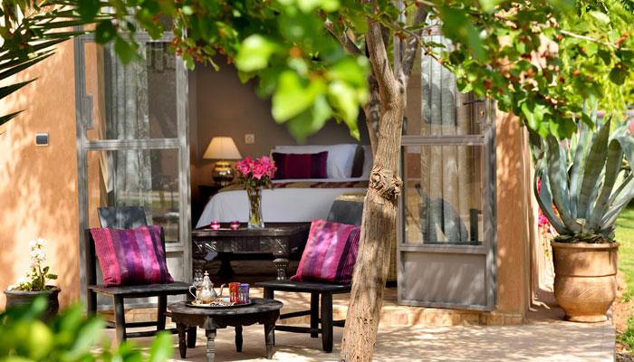 Kasbah Suite terrace, Villa Dinari, your luxury accommodation in Marrakech