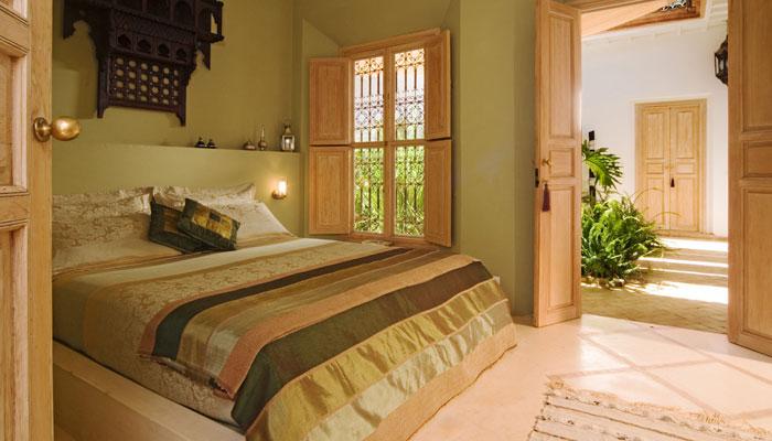 Elegant Oriental Bedoom at luxury Villa Dinari Marrakech Morocco