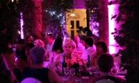 Villa Dinari wedding dinner