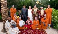 Wedding celebration at luxury Villa Dinari