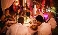 Wedding dinner, Villa Dinari, luxury in Marrakech