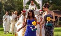 The bride's dream wedding, Villa Dinari, luxury villa in Marrakech