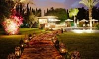 Romantic gardens of Villa Dinari, Marrakech