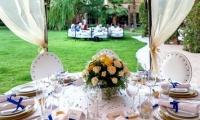Villa Dinari wedding table