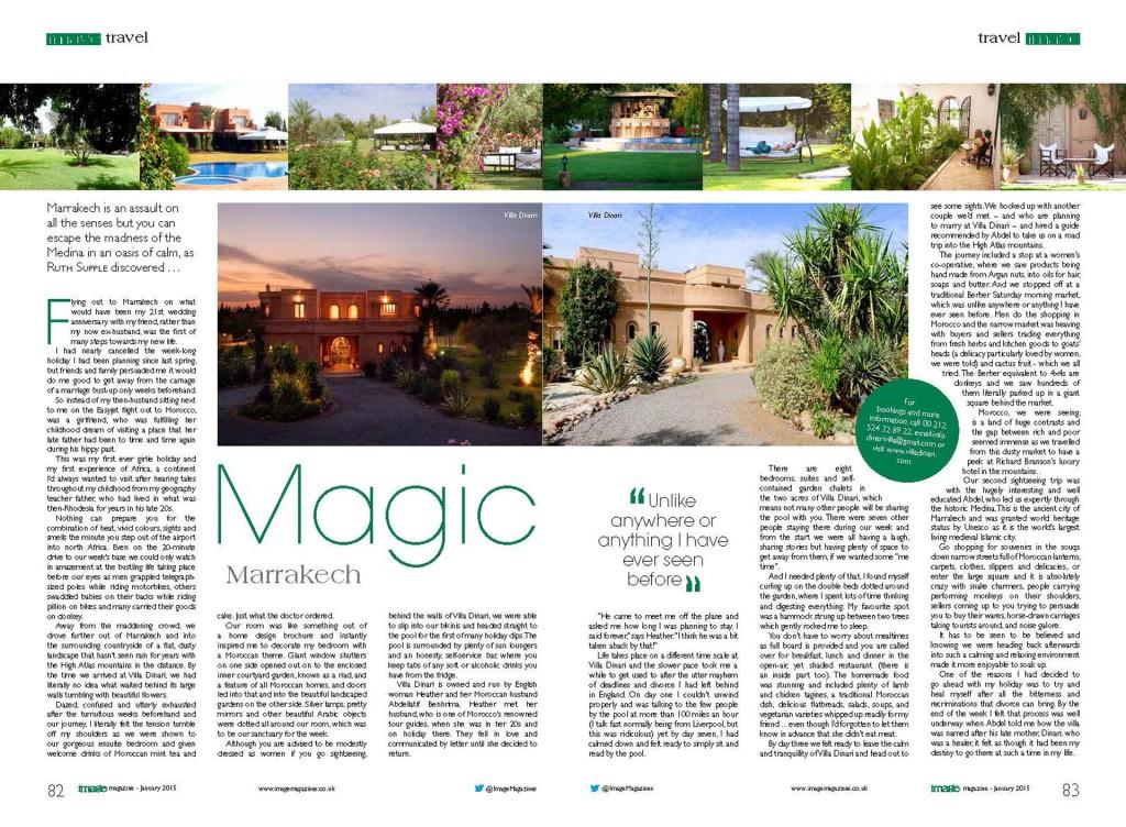 Image Magazine double page