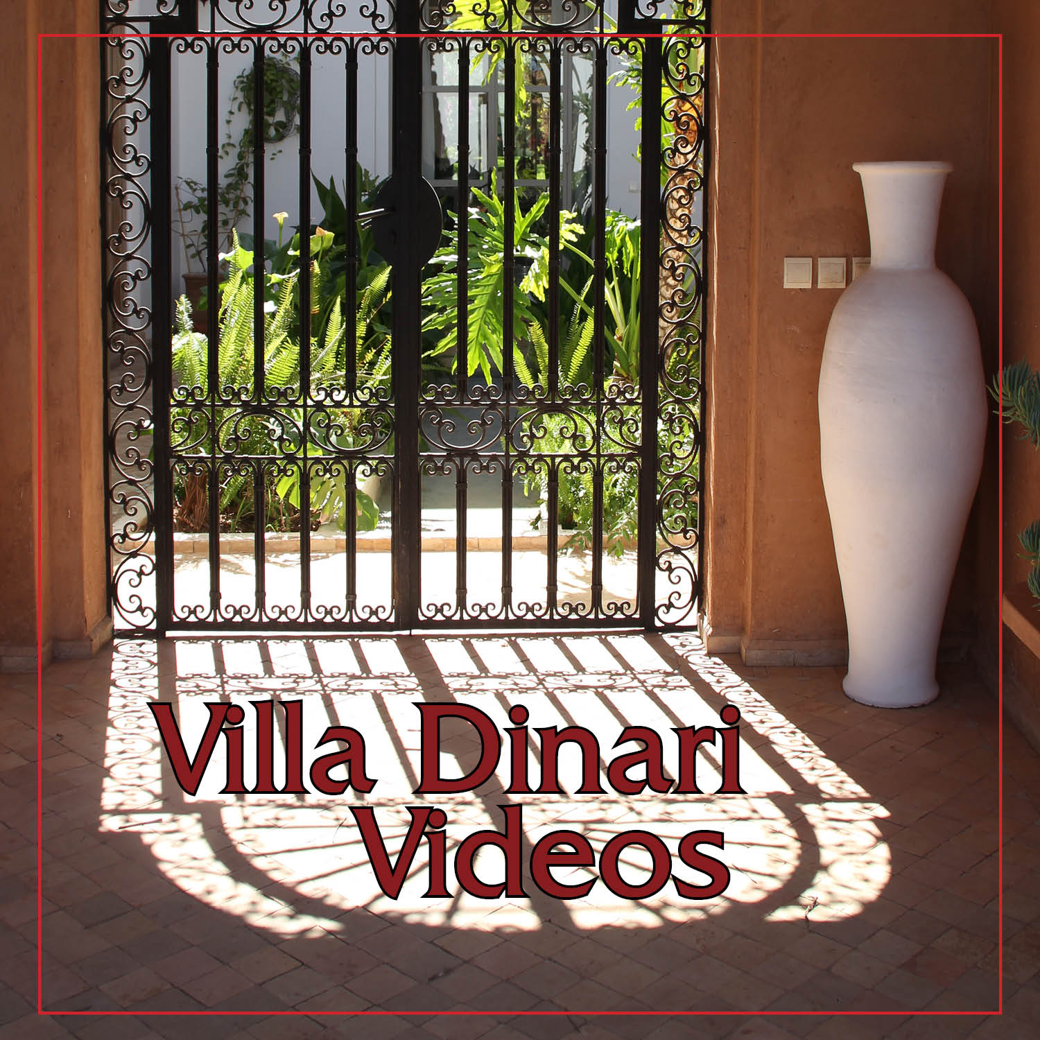 Villa Dinari Videos from the luxury villa in Marrakech