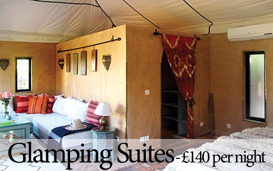 Luxury Glamping Suites at Villa Dinari, Marrakech
