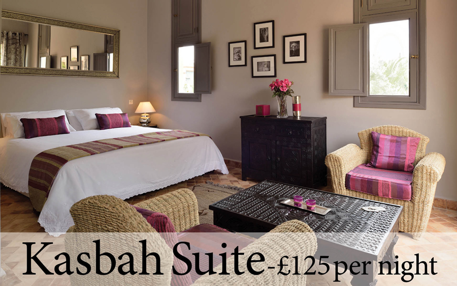 The Kasbah Suite at Villa Dinari, your luxury villa in Marrakech