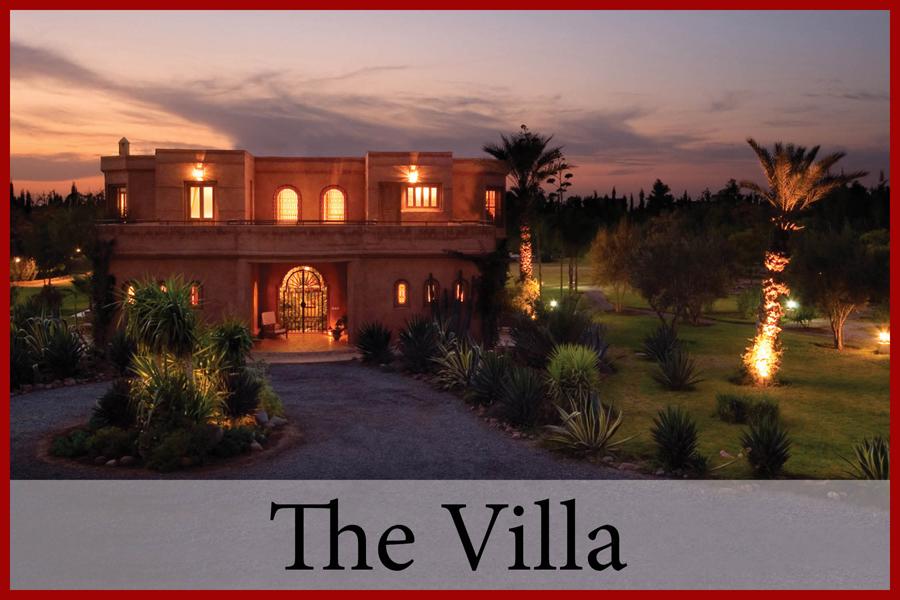 Villa Dinari house and pool, luxury villa in Marrakech