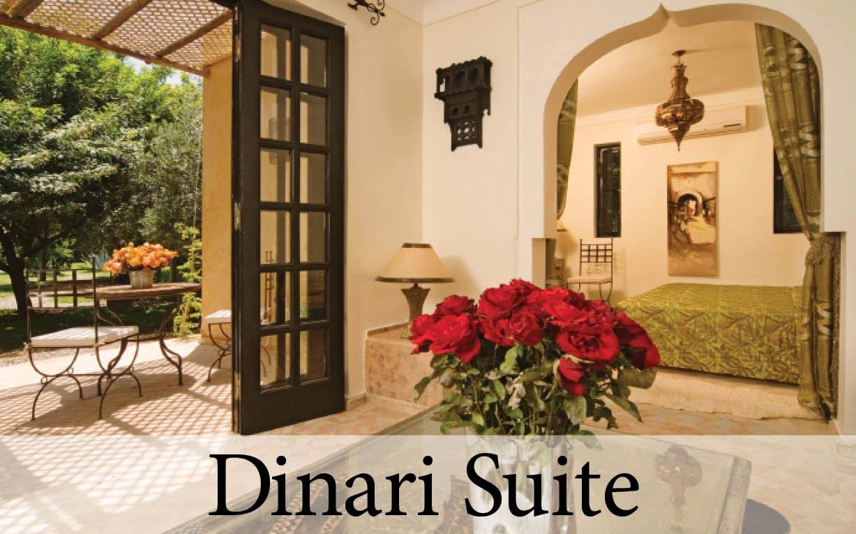 The Dinari Suite at Villa Dinari, your luxury villa in Marrakech