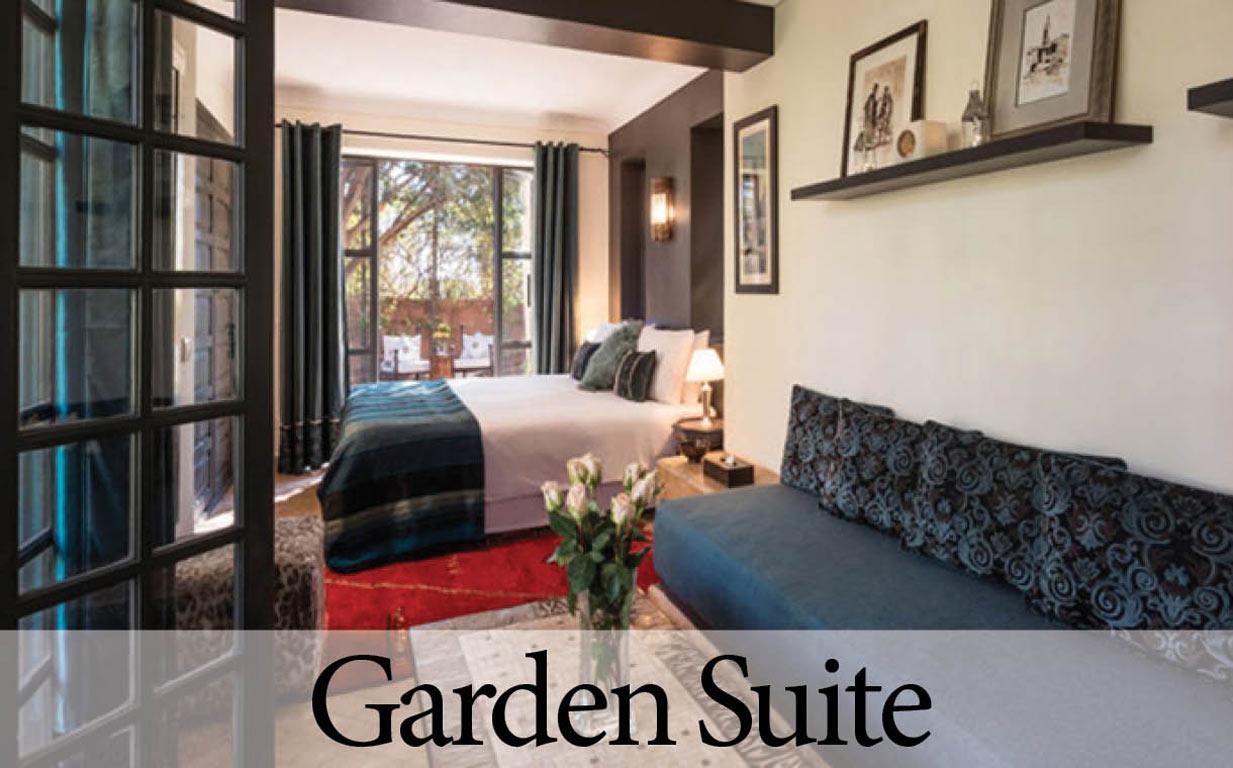 Villa Dinari's Garden Suite. Luxury Villa in Marrakech
