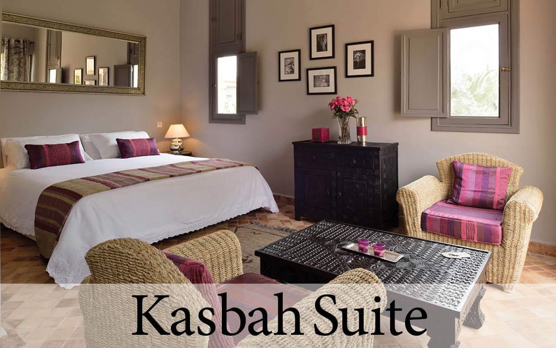 The Kasbah Suite at Villa Dinari, your luxury villa in Marrakech