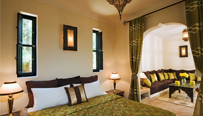 Luxury Dinari Suite lounge Villa Dinari Marrakech Morocco
