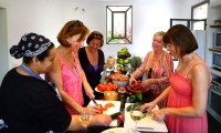 Villa Dinari cooking course