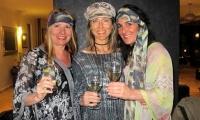 Friends party together at Villa Dinari