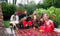 Villa Dinari, musicians at your luxury villa in Marrakech