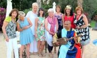 Party time at Villa Dinari in Marrakech