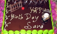 Villa Dinari birthday cake, your villa in Marrakech