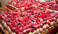 Delicious luxury desserts at Villa Dinari, Marrakech