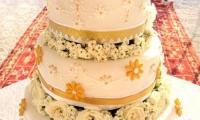 Vlla Dinari luxurious wedding cake