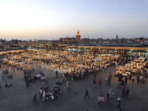 walking tour of Marrakech