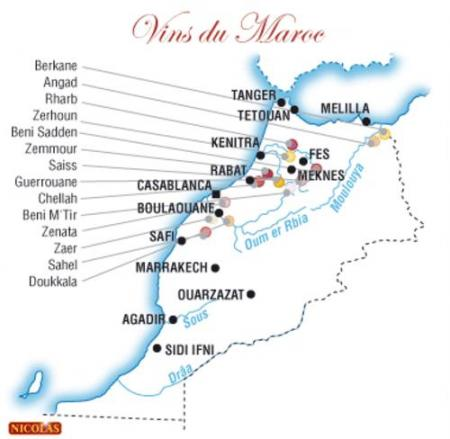 Wines of Morocco