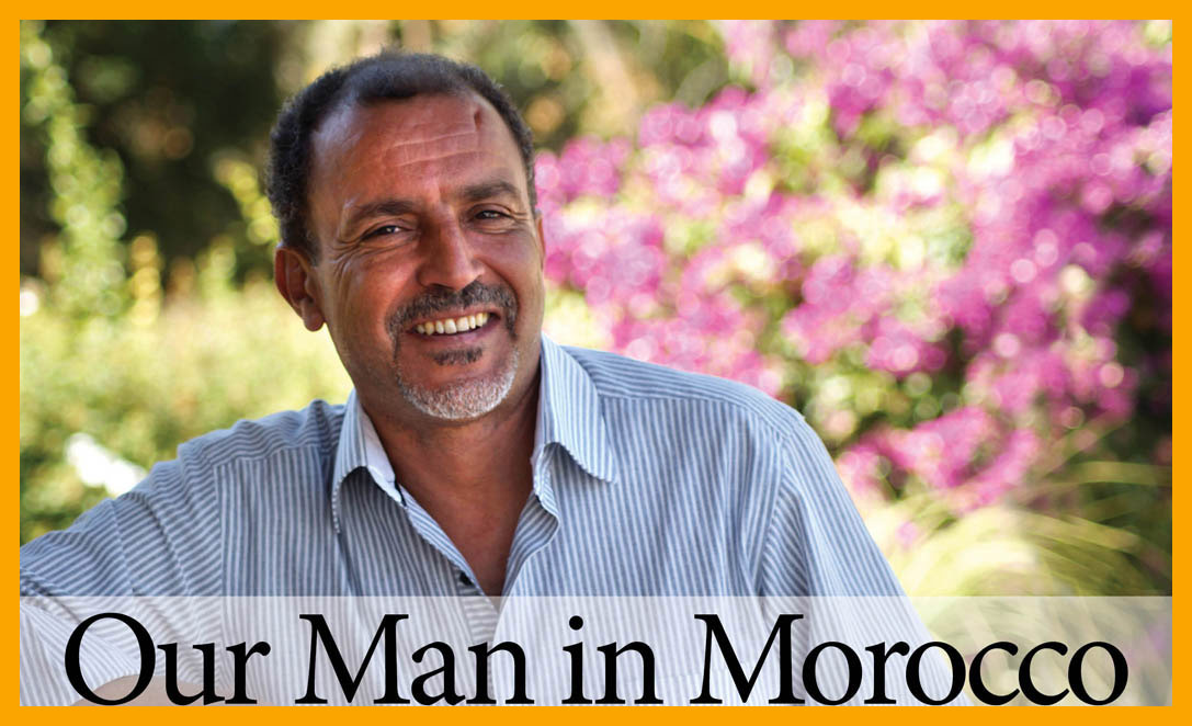 Our Man in Morocco, based at Villa Dinari, luxury villa in Marrakech