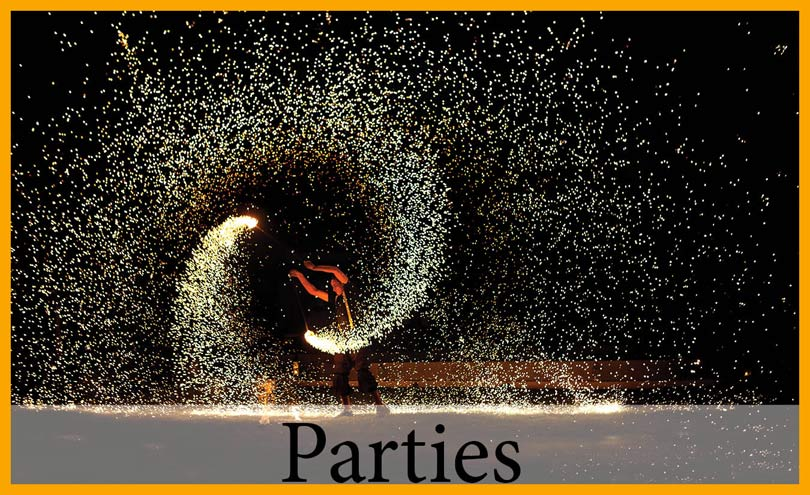 Special Parties and events at Villa Dinari, luxury vila in Marrakech