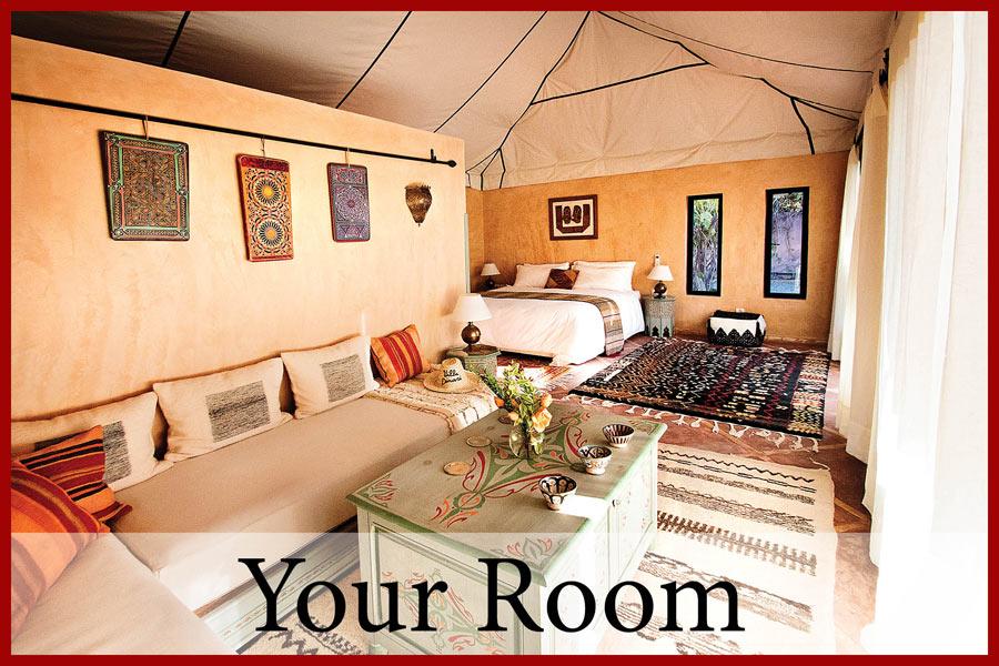 Your Room at Villa Dinari, luxury villa in Marrakech