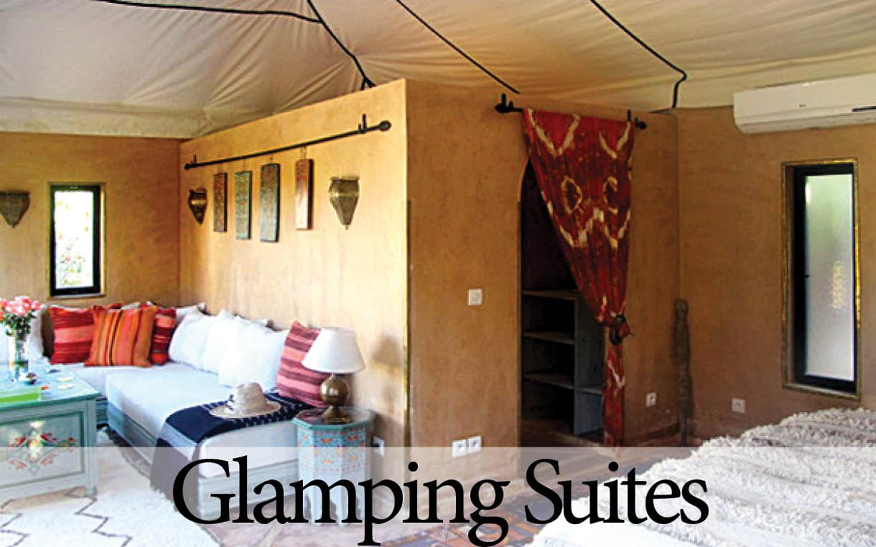 Luxury Glamping Suites at Villa Dinari, Marrakech