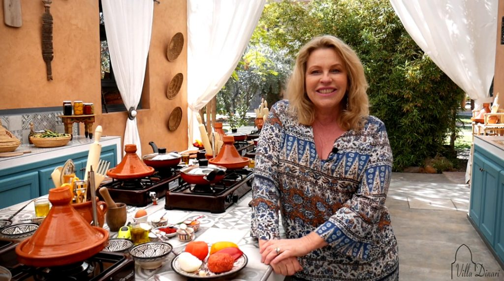 Moroccan cooking at Villa Dinari