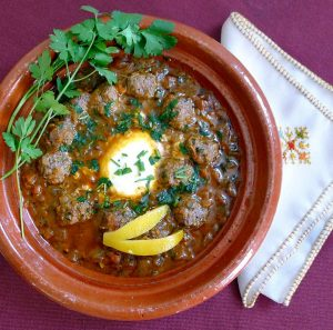 Delicious Moroccan cooking at Villa Dinari